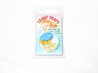 Trout Traps 'Mini-Tube Jigs' 1/64 Yellow/white Qty 4