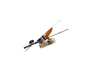 Ready2Fish Multi-Species 5'6' Med 6-10lb 2Pc Spin-Cast Combo Complete With Tackle Kit
