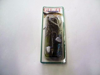 Bass'n Man Gitzit 11014 Fat Gitzit Lead 1/4 Oz 5 Tubes + 2 Jigheads