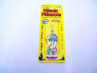 Northland Mimic Minnow Jig MMJ3-99 1/8 Oz Qty 3
