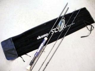Okuma SLV Fly SLV-8-96-4 9'6' 4 Wt 4 Pc ***Damaged Rod Sock***