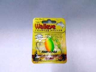 Northland Mr. Walleye Crawler Hauler WSR5-FT Sz 5 Firetiger
