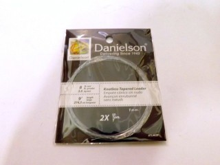 Danielson Knotless Tapered Leader KTL902X 9' 2X 8lb