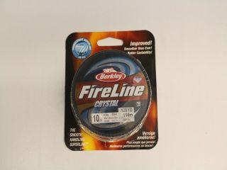 Berkley FireLine 10lb Crystal 125yds