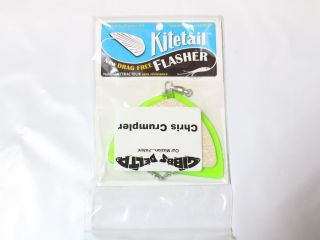 Gibbs Kitetail Flasher Green/Glow