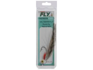 Superfly Saltwater Punch Fly FLY6241-2/0P-US Sz 2 Natural