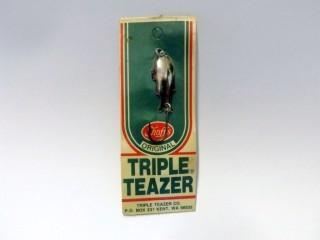 Worden's ***Vintage*** Triple Teazer 960 S 1-1/2' Silver