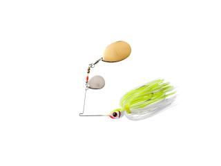 Booyah Bait Co. Booyah Blade BYBC138616 3/8 Oz Chartreuse/White