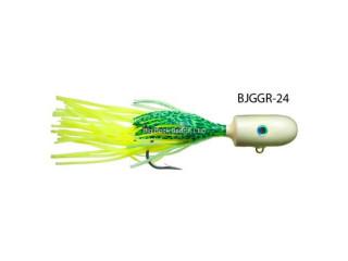 Zak Bottom Jig Z-BJGGR 24 Oz Green/Glow Skirt