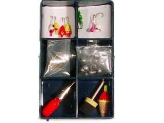 South Bend Ice Fishin' Complete Assortment IFA-26 Qty 26 (With Utility Case)