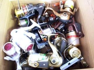Misc. Reel Parts Components -Misc. Broken Reels & Parts Etc.