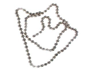 Shamrock Bead Chain Sz Med (Approx 18') Chrome