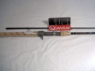 Quantum ==Bill Dance Signature Series DSC662M 6'6' 2 pc. Casting Rod 8-17 Lb.