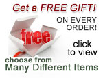 Free Gift with any order over $50!