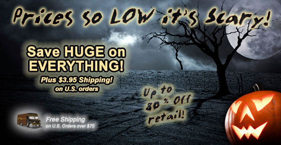 Prices so LOW it's Scary! Up to 80% Off Retail!