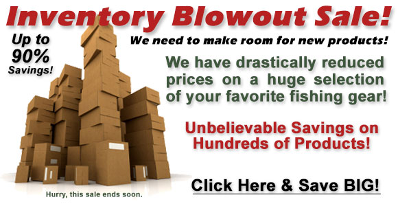 Limited Time Inventory Blowout Sale!