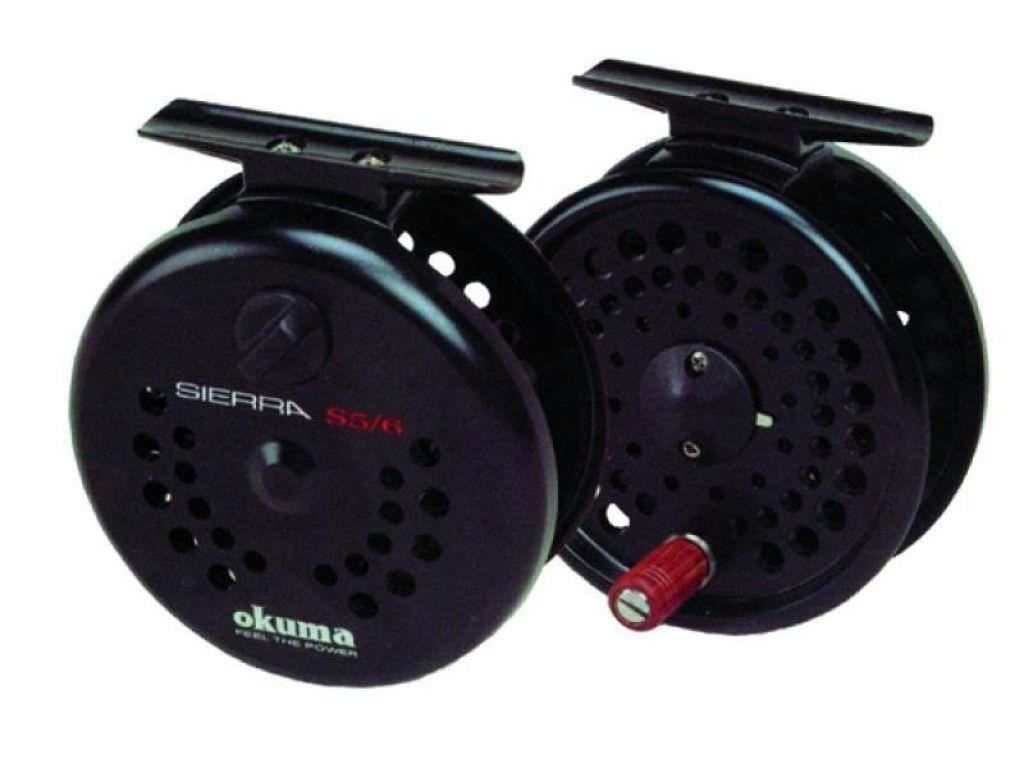 Okuma sierra fly reel s 4 5 wt in box fly fishing gear for Discount fly fishing gear
