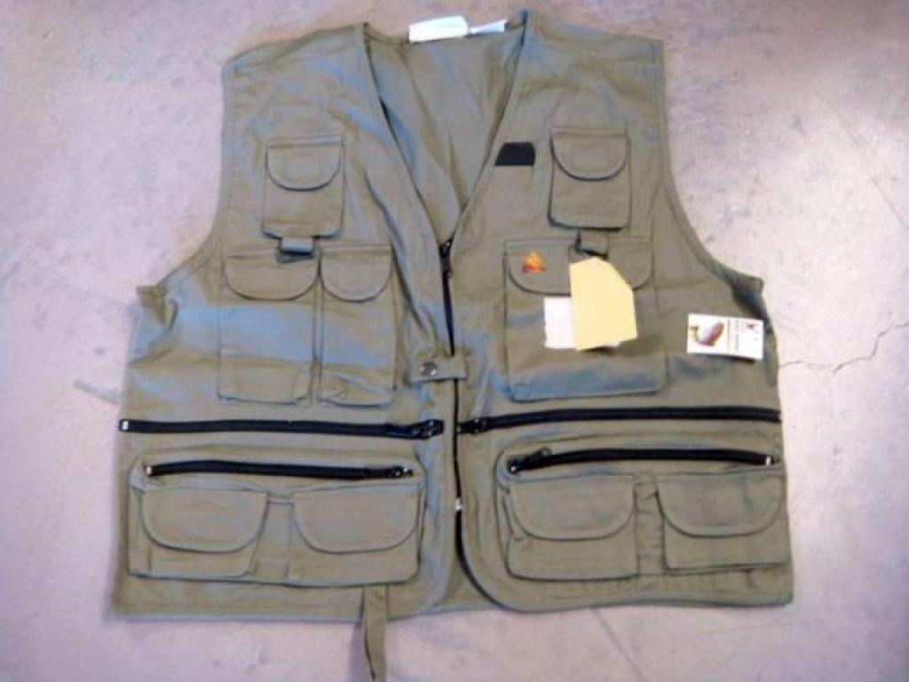 Blackhawk easy drifter utility vest 6711r sz xxl fly for Blackhawk fly fishing