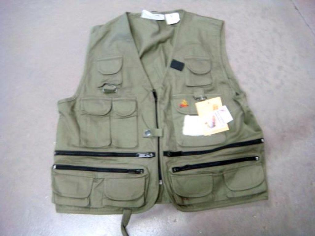 Blackhawk easy drifter utility vest 6711r sz m medium for Blackhawk fly fishing