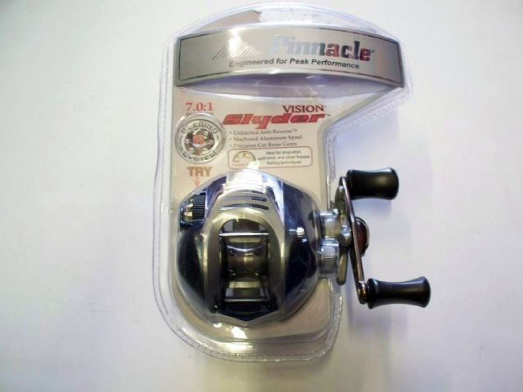 Pinnacle vision slyder syf10x in box fishing reels for Pinnacle fishing reels