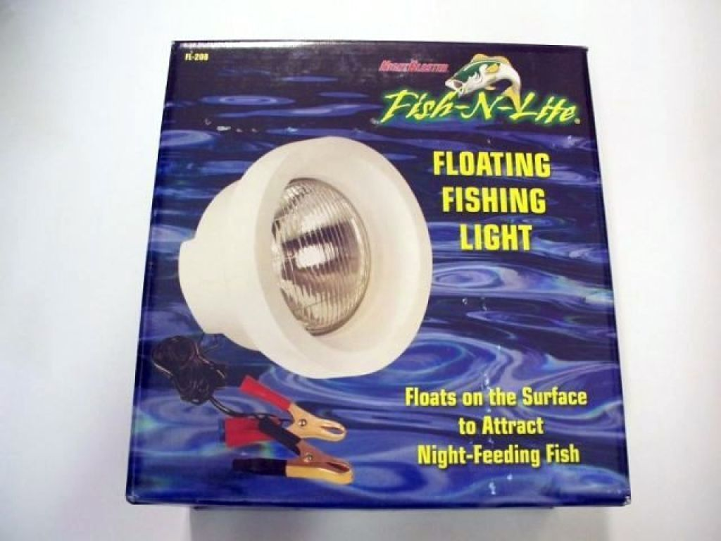 optronics nightblaster fish-n-lite fl-208 floating fishing light, Reel Combo