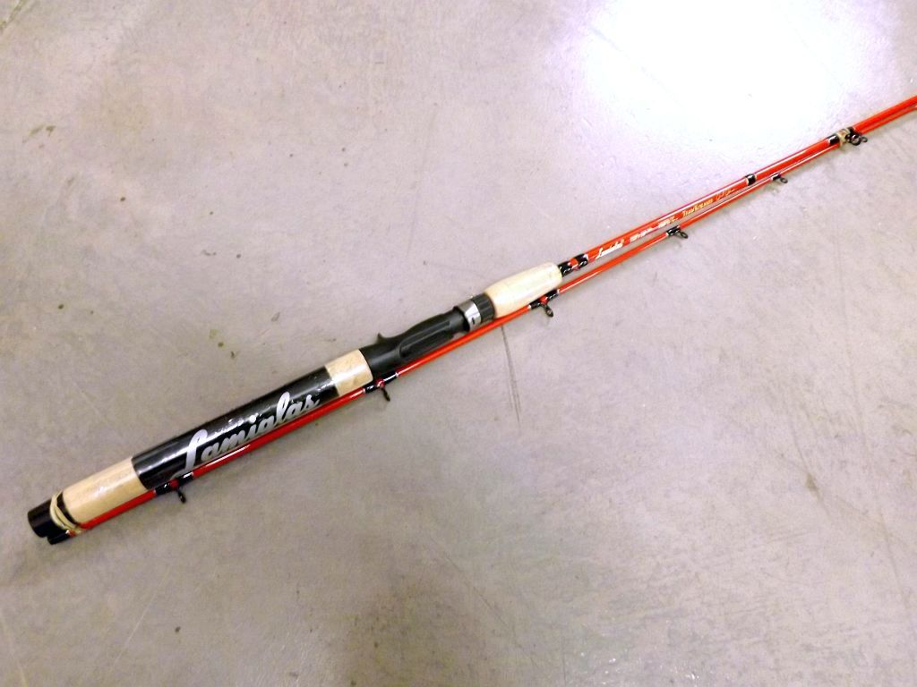 Lamiglas jared johnson team kokanee cgr762l 7 39 6 ultra for Lamiglas fishing rods