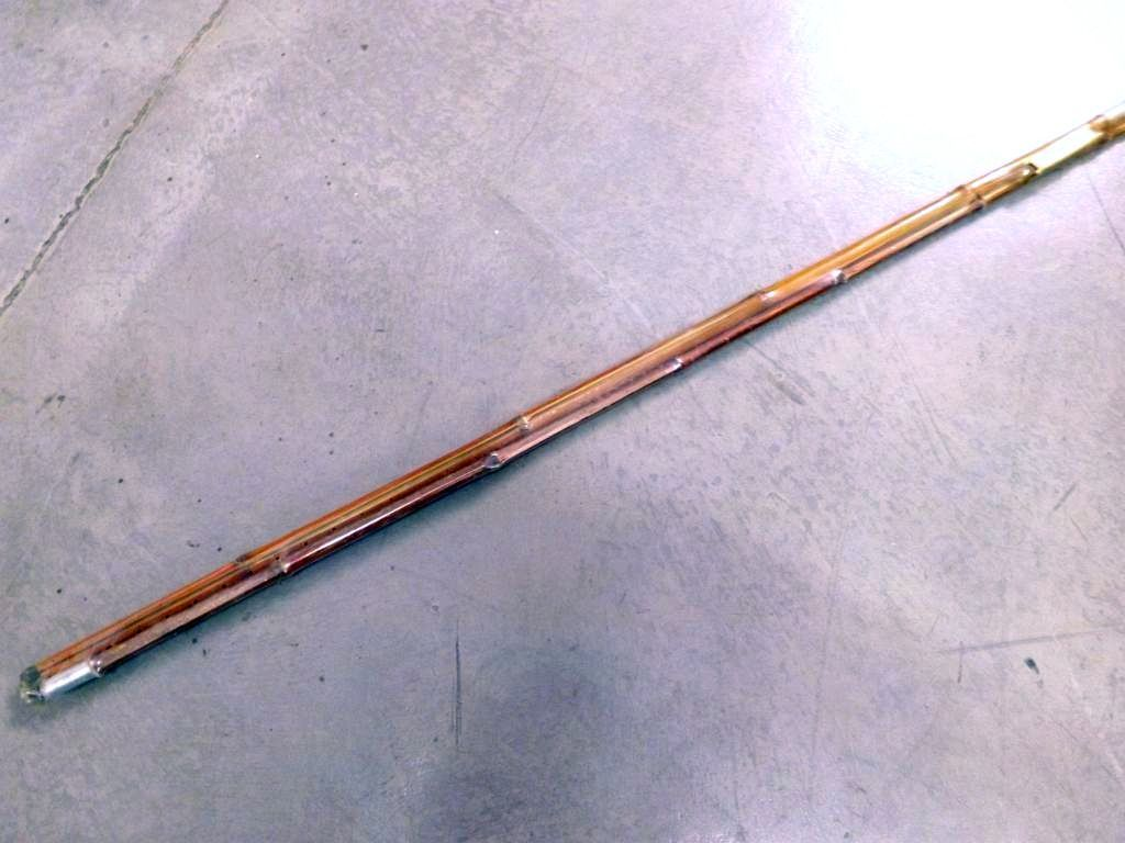 Columbia vintage jointed bamboo pole r123 12 39 3pc for Vintage fishing poles