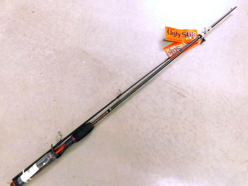 Shakespeare ugly stik gx2 usldca562m 5 39 6 med 10 17 2 pc for Ugly stik fishing rod