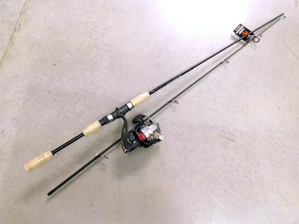Matzuo spinning combo 6 39 6 med 6 14lb 2pc for Matzuo fishing rod