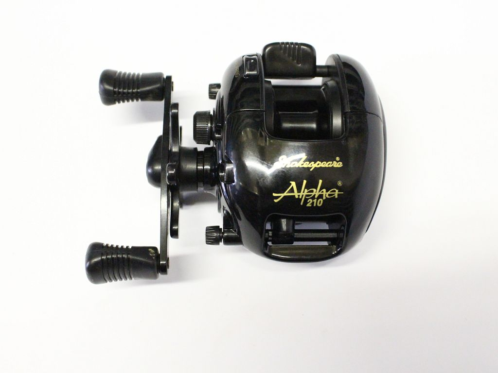 Shakespeare alpha 210 baitcast reel fishing reels for Casting fishing reels