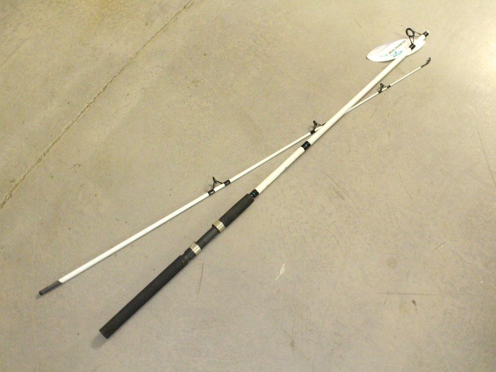 Hurricane seahawk sh 802mhs 8 39 med hvy 12 25lb 2 pc for Hurricane fishing rods