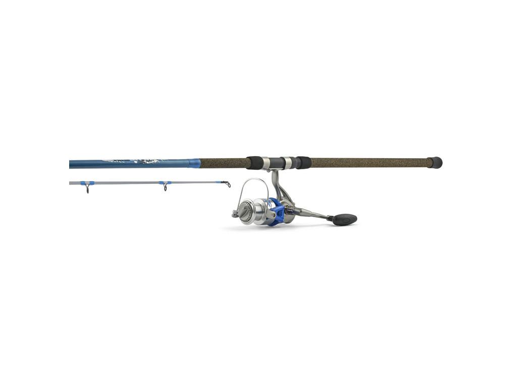 Hurricane bluefin spinning surf combo 10 39 hvy 20 40lb 2 pc for Hurricane fishing rods
