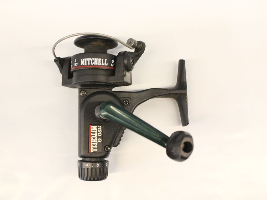 Mitchell vintage 1120 g rear drag fishing reels for Mitchell fishing reels
