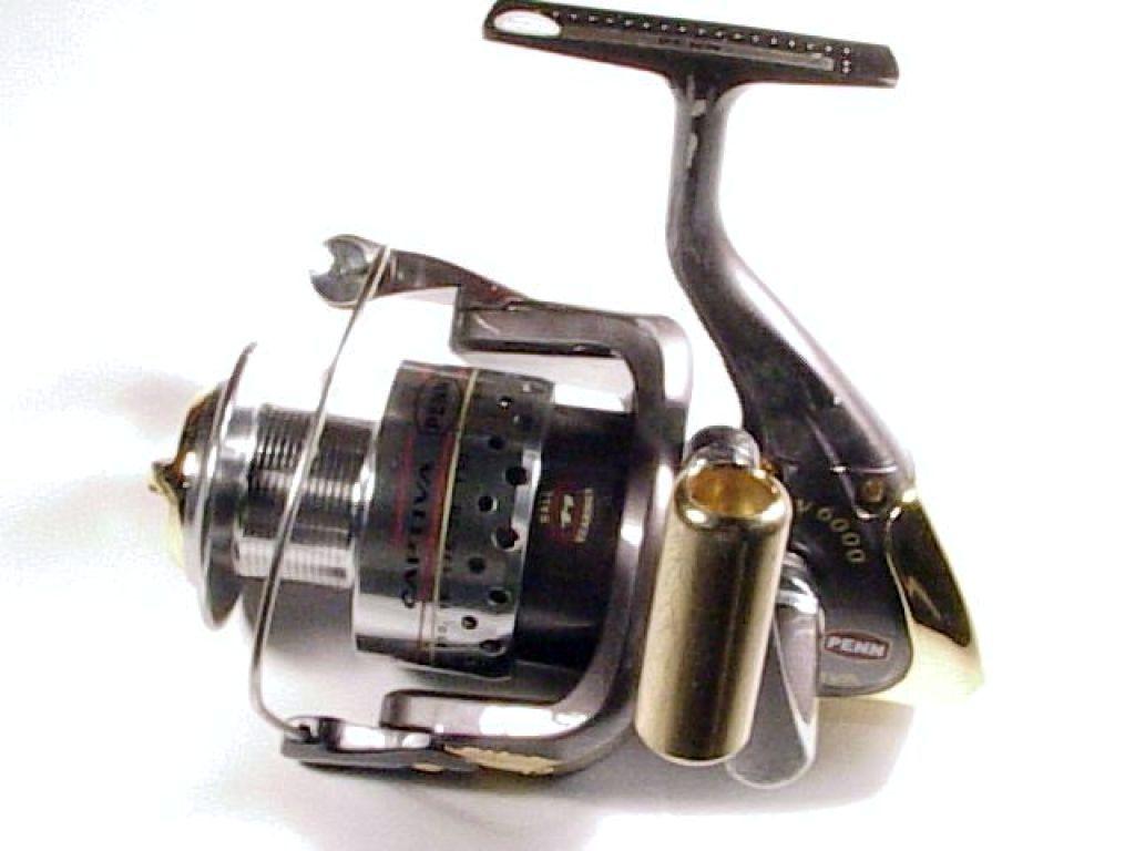 Penn penn cv 6000 captiva used fishing reels spinning for Used fishing reels