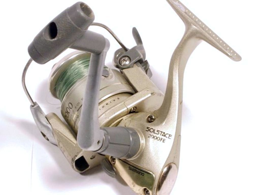 Shimano solstace 2000fe used discount for Used fishing reels