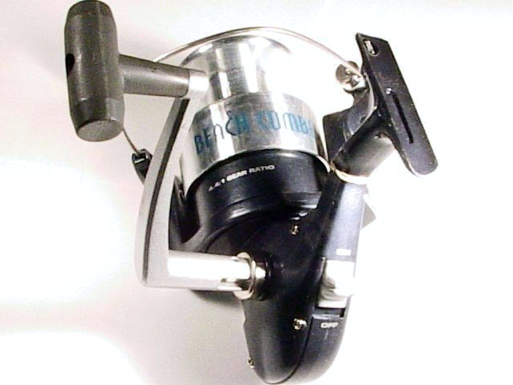 Calypso beach comber bch 80 heavy spinning reel used for Used fishing reels