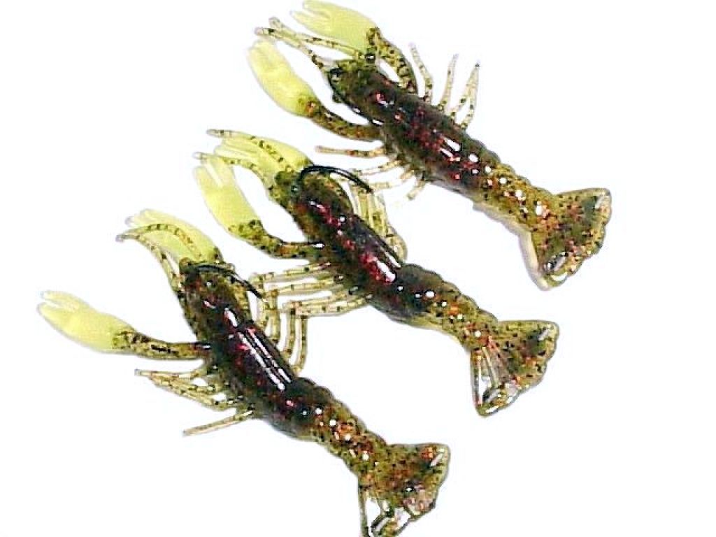 Sliding weight hooks baits crawfish jr finesse craw for Bass fishing gear