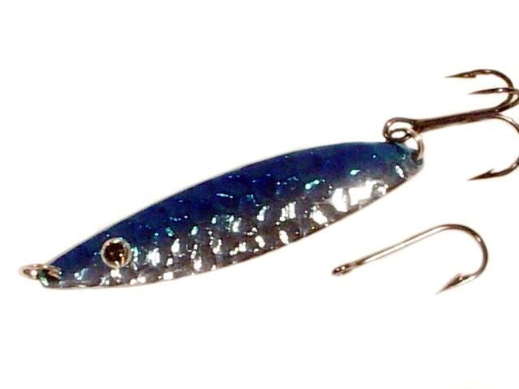 Blue fox flash bffp2hmcbn 1 4 oz textured silver blue for Blue fox fishing lures