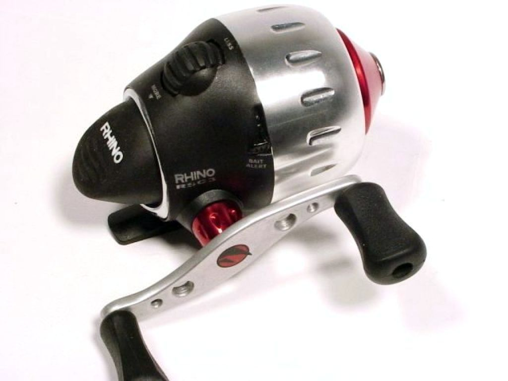 Zebco red rhino rsc3 demo fishing reels spin cast for Rhino fishing pole