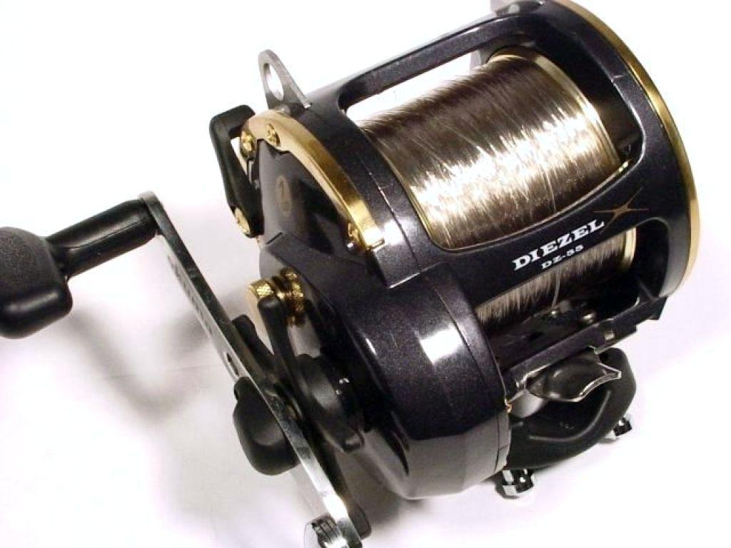 Okuma dz 55 trolling reel used fishing reels trolling for Used fishing reels