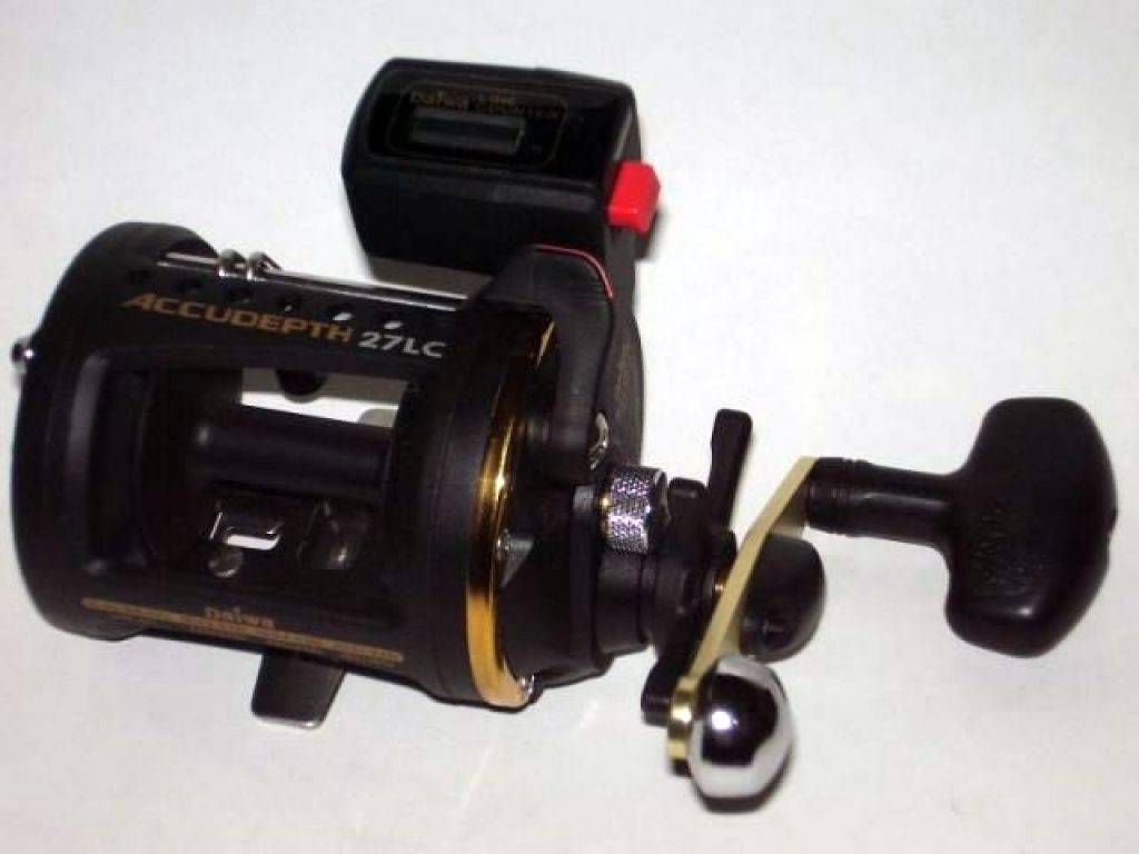 Daiwa Accudepth W Line Counter And Levelwind