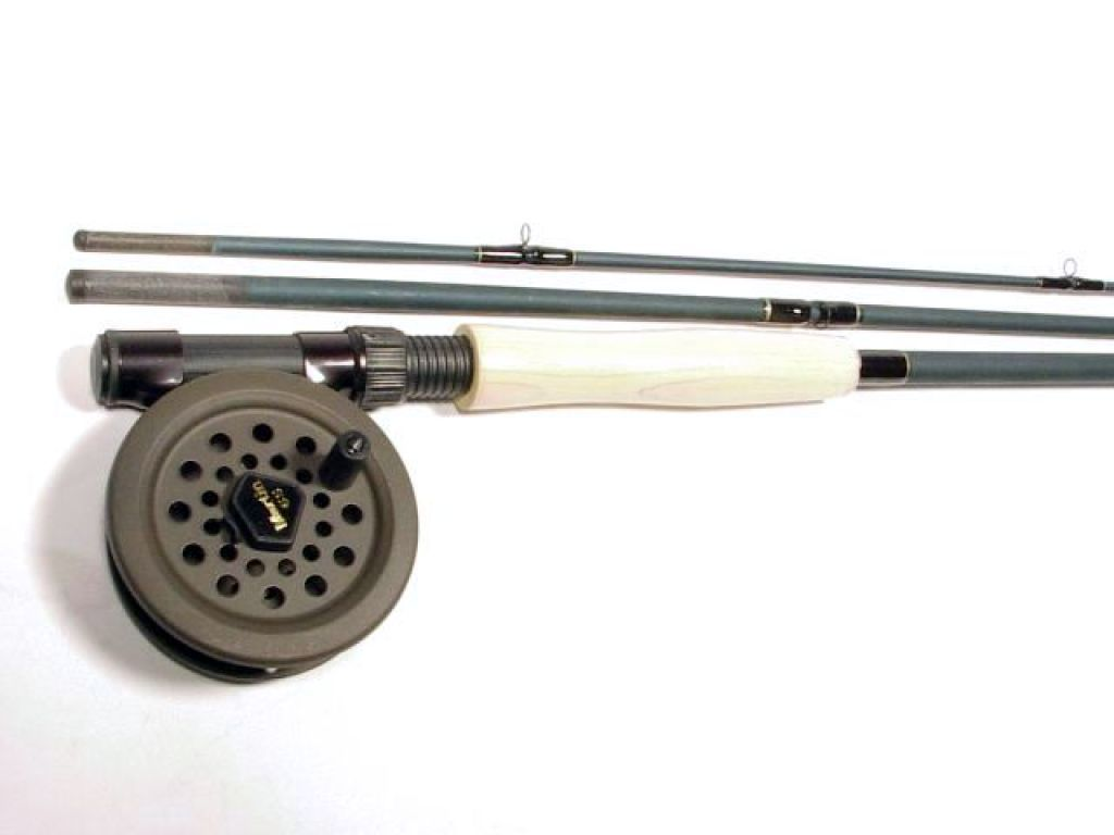 Martin m56fb 8 39 5 6wt 3pc matched combo for Cheap fishing rods and reels combo