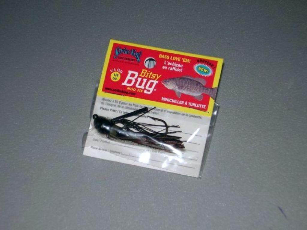 Strike King Bitsy Bug Strike King Bitsy Bug Mini Jig