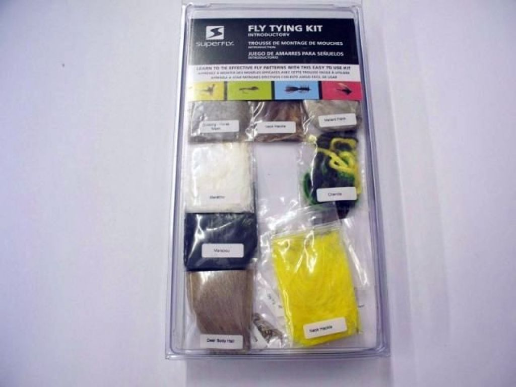 Super fly fly tying kit for the novice fishandsave for Fly fishing tying kit