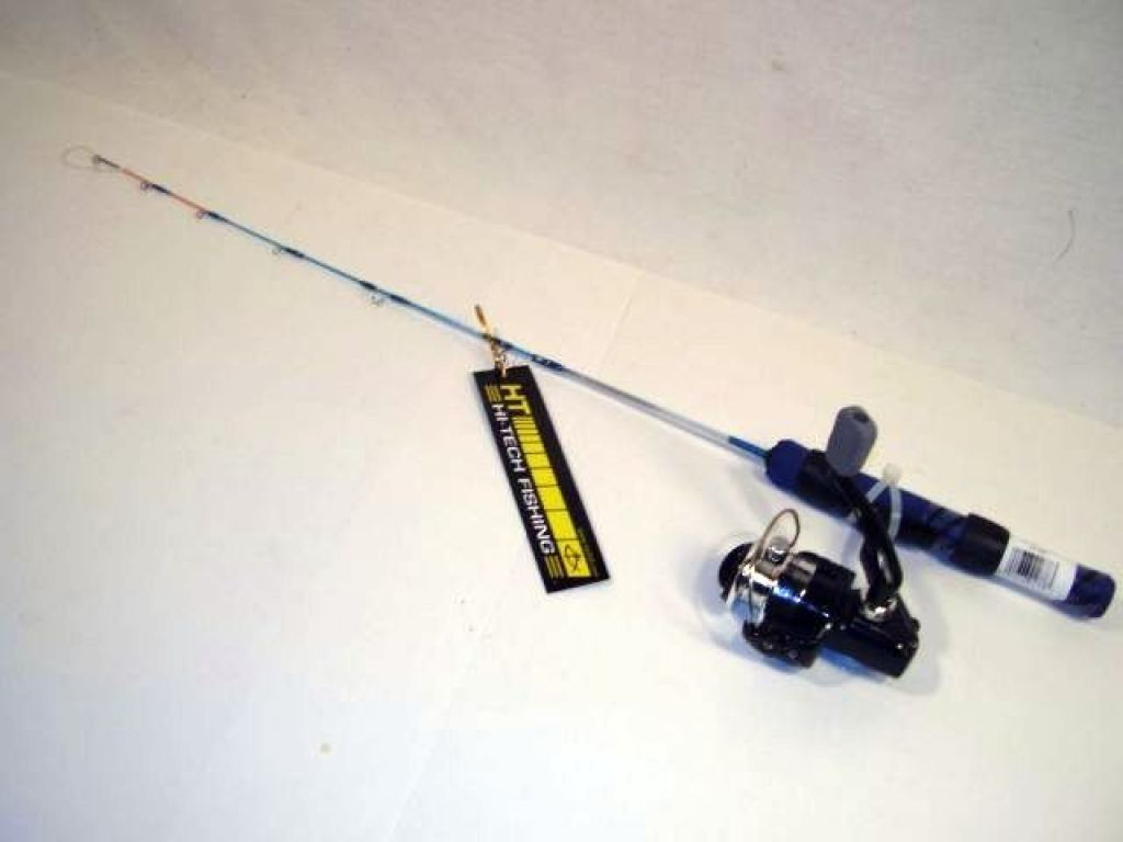Hi tech ice combo ice blues ib 24sc 24 rod w for Ice fishing supplies wholesale