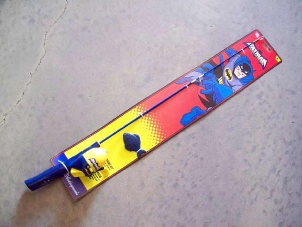 Shakespeare batman kit rod reel fishing rods combo for Batman fishing pole