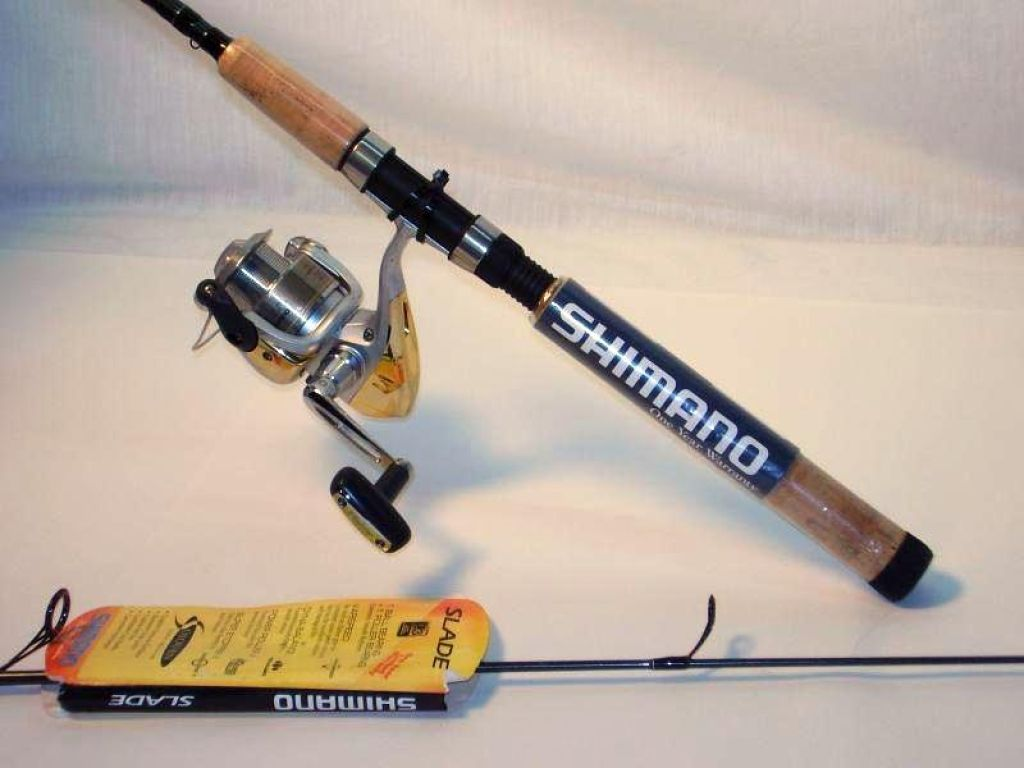 Shimano sojourn sjs 66m2 6 39 6 2pc with slade 2500fb for Cheap fishing rods and reels combo