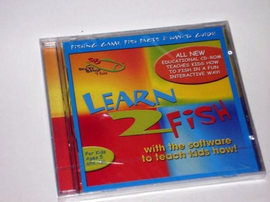 South bend learn to fish educational cd rom for for Learn to fish