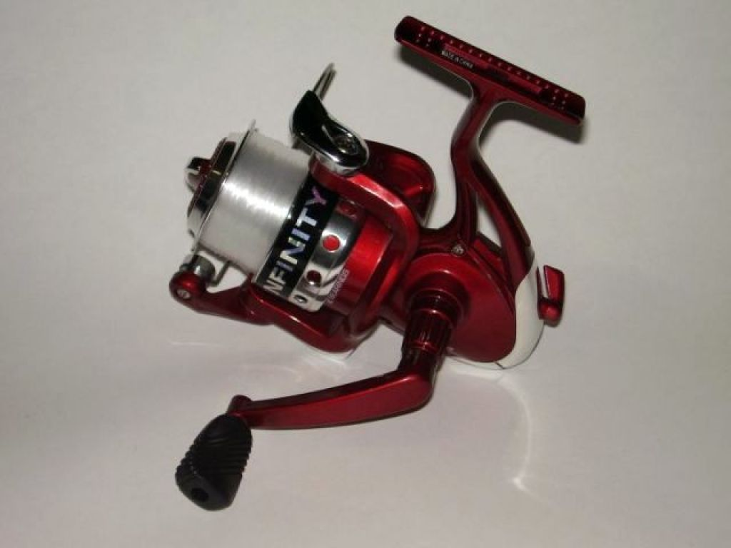 South bend infinity km 200 60 spinning reel red fishing for South bend fishing reel
