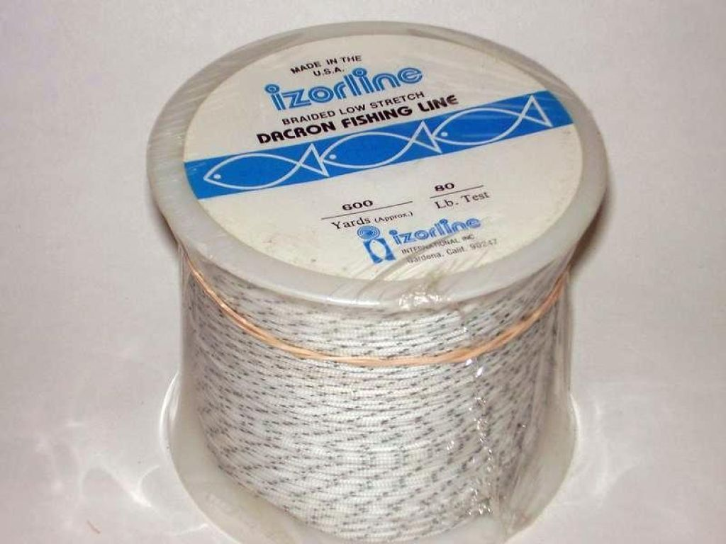 izorline izorline braided low stretch dacron fishing line